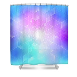 Synthesis Shower Curtain