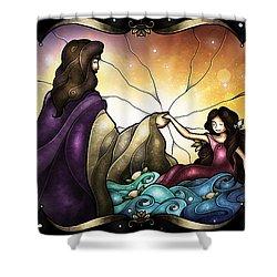 Talitha Koum Shower Curtain