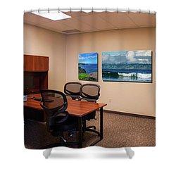 Tamara Office West Wall Shower Curtain
