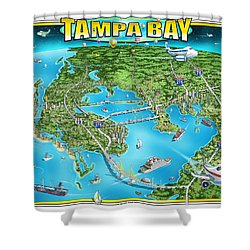 Tampa Bsy 2019 Shower Curtain