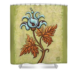 Tapestry Flower 2 Shower Curtain