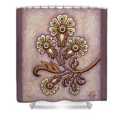 Tapestry Flower 4 Shower Curtain