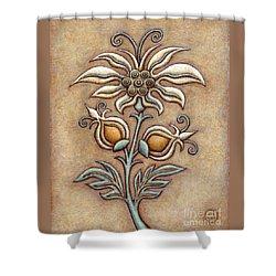 Tapestry Flower 9 Shower Curtain