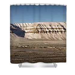 Tempelfjord Svalbard Shower Curtain