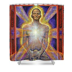 Temple Of The Soul Shower Curtain