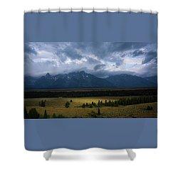Teton Park Shower Curtain