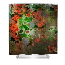 Shower Curtain featuring the digital art The Anesthetised Soul by Edmund Nagele