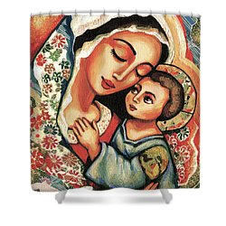 The Blessed Mother Shower Curtain