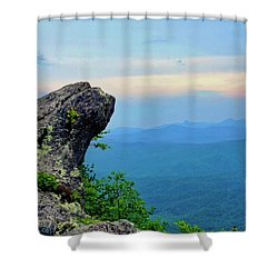 The Blowing Rock Shower Curtain
