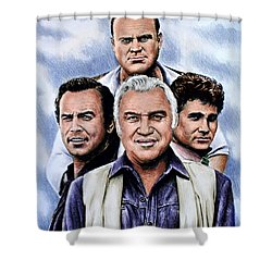 The Cartwrights Colour Ver Shower Curtain