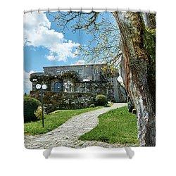 The Castle Of Villamarin Shower Curtain