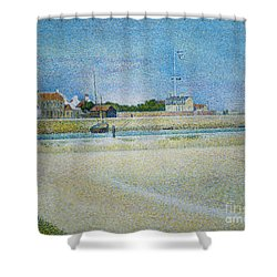 The Channel Of Gravelines Grand Fort Philippe Shower Curtain