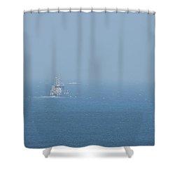 The Coast Guard Shower Curtain