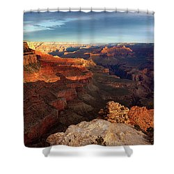 Shower Curtain featuring the photograph The Dawn Of A New Day by Rick Furmanek