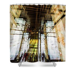 The Delegation Shower Curtain