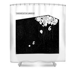 The Edge Of The Universe Shower Curtain