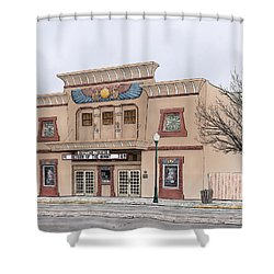 The Egyptian Theatre Shower Curtain