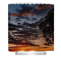The Friday Before Christmas Shower Curtain