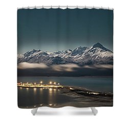 The Homer Spit Shower Curtain