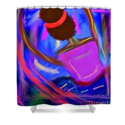 The Intercessor Shower Curtain
