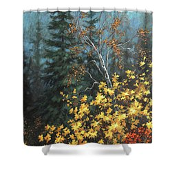 The Jewels Of Autumn Shower Curtain