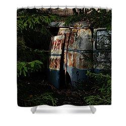 The Junk Yard Shower Curtain