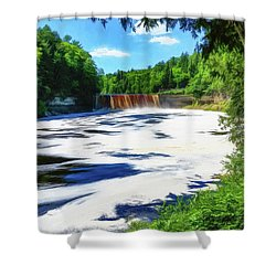 The Mighty Tahquamenon Shower Curtain