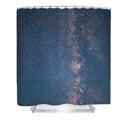 The Milky Way In Arizona Shower Curtain