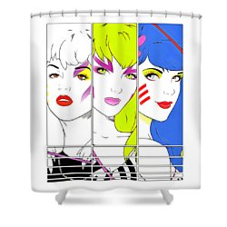 The Misfits Shower Curtain