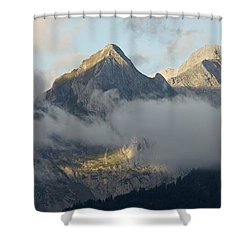 Shower Curtain featuring the photograph The Ossau Valley  by Stephen Taylor