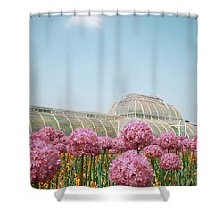 The Palm House Shower Curtain
