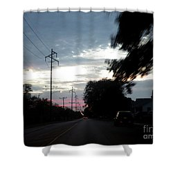 The Passenger 02 Shower Curtain
