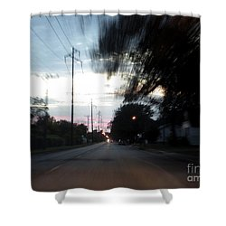 The Passenger 03 Shower Curtain