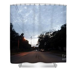 The Passenger 06 Shower Curtain