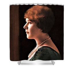 The Pearl Necklace Shower Curtain