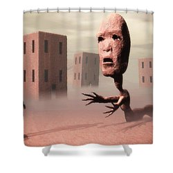 The Politician And I Shower Curtain