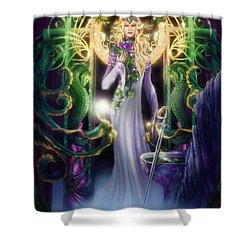 The Return Of Ithwenor Shower Curtain