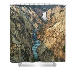 The River Shower Curtain