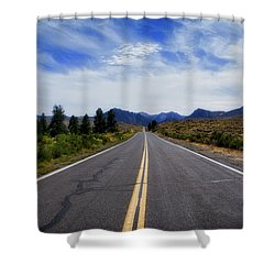 The Road Best Traveled Shower Curtain
