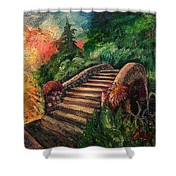The Spirit Bridge At City Park  Shower Curtain