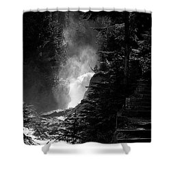 The Stairs At Bear Creek Falls Shower Curtain