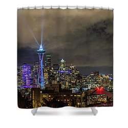 The Star Of Seattle Shower Curtain