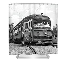 The Streetcar Shower Curtain