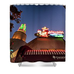 The Tower- Shower Curtain