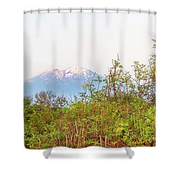 Shower Curtain featuring the photograph The Venerable Mt Kilimanjaro by Kay Brewer