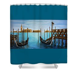 The Venetian Phoenix Shower Curtain