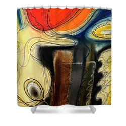 The Whirler Shower Curtain