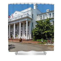 The Willcox Hotel - Aiken Sc Shower Curtain
