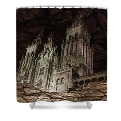 Shower Curtain featuring the photograph The World At Your Feet by Alex Lapidus