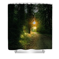 There Is Always A Light Shower Curtain